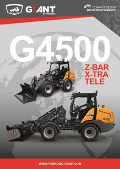 G4500 loaders brochure